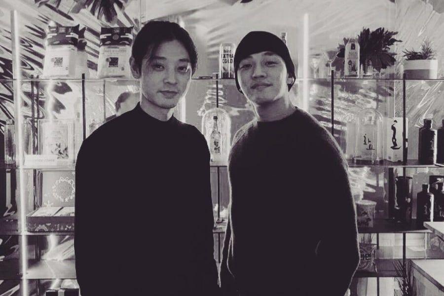 Yoo Ah In visita el nuevo restaurante de Jung Joon Young en París
