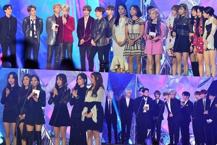 Ganadores de los 2018 MBC Plus X Genie Music Awards
