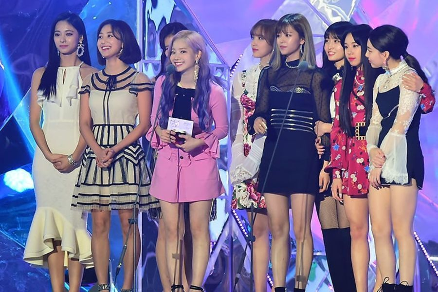 TWICE gana Daesang al artista con mayores ventas del año en los 2018 MBC Plus X Genie Music Awards