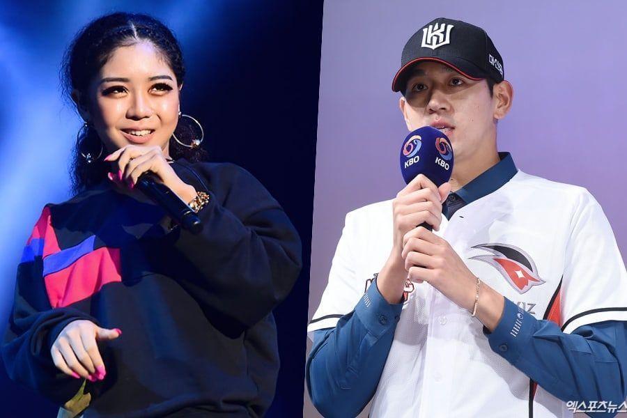 La rapera Truedy está saliendo con el jugador de Baseball profesional Lee Dae Eun