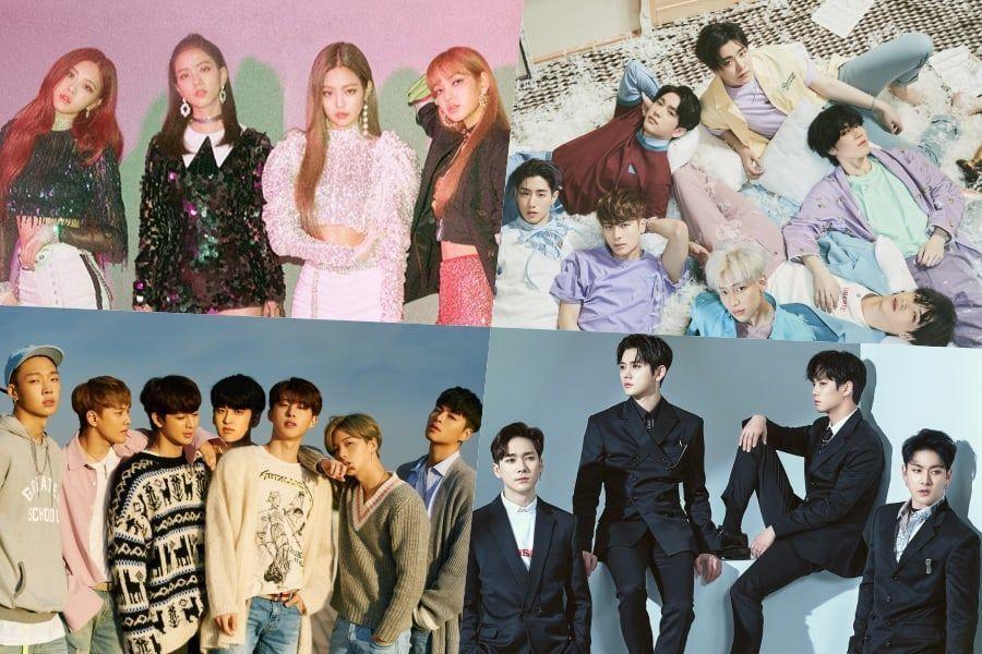 BLACKPINK, GOT7, iKON, NU'EST W y MAMAMOO son certificados oficialmente platino por Gaon