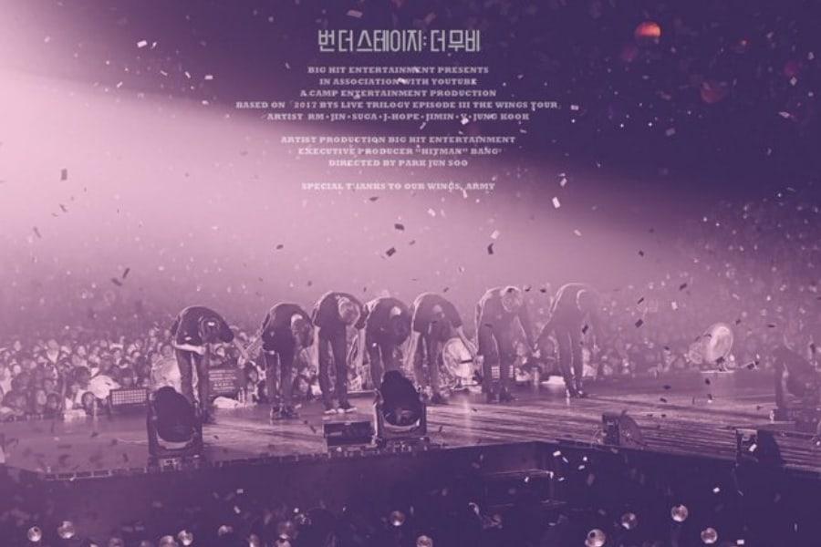 """""""Burn The Stage"""" de BTS encabeza la clasificación actual de las listas de pre-ventas"""