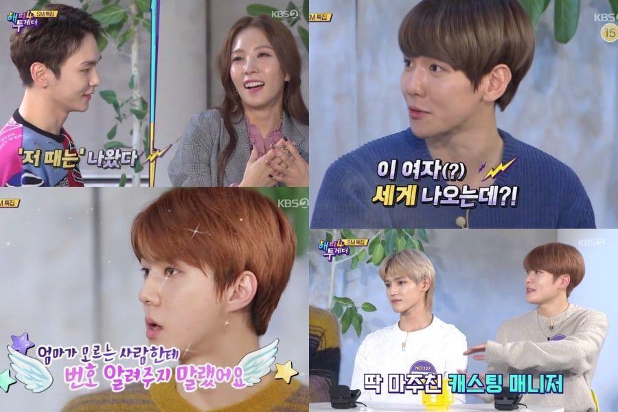 Los artistas de SM comparten historias sobre cómo fueron elegidos por la agencia