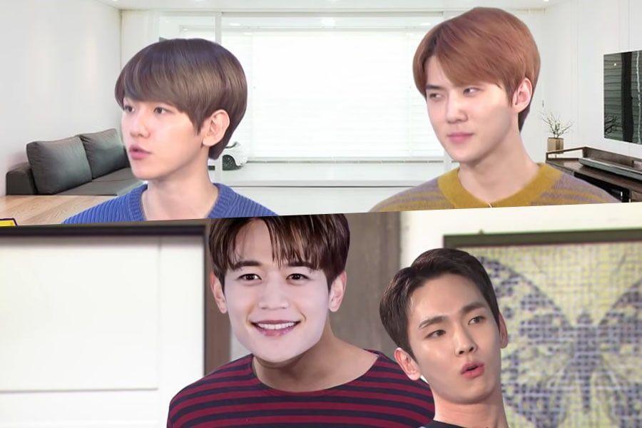 Key, Baekhyun y Sehun describen las diferentes formas cómo sus grupos terminan sus intensas discusiones