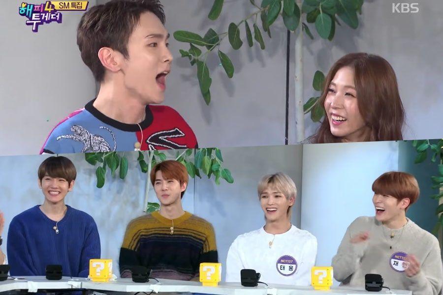 Artistas de SM bromean sobre sus contribuciones a la agencia a través de exitosas canciones