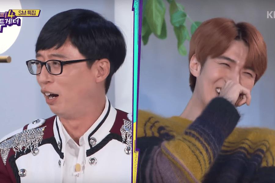 Sehun de EXO bromea al decir que no ha podido mudarse debido a Yoo Jae Suk