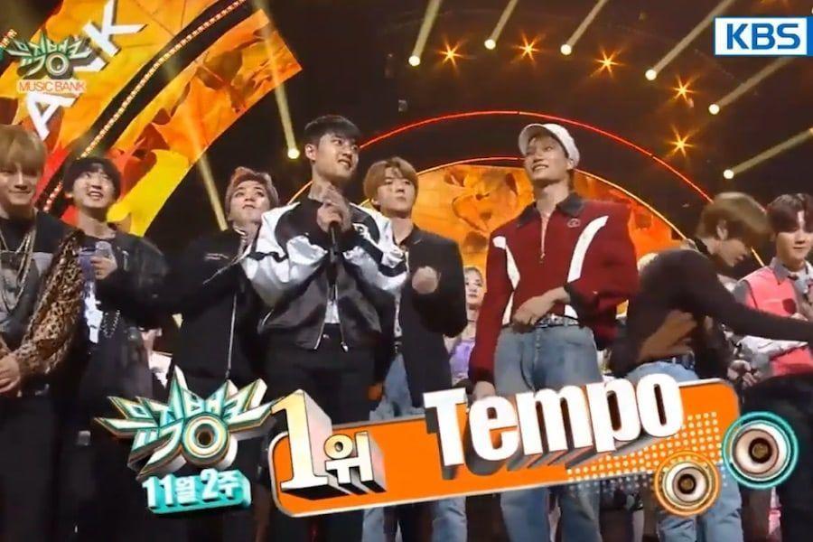 """EXO se lleva su 1era victoria con """"Tempo"""" en """"Music Bank"""", presentaciones de TWICE, Key, gugudan y más"""