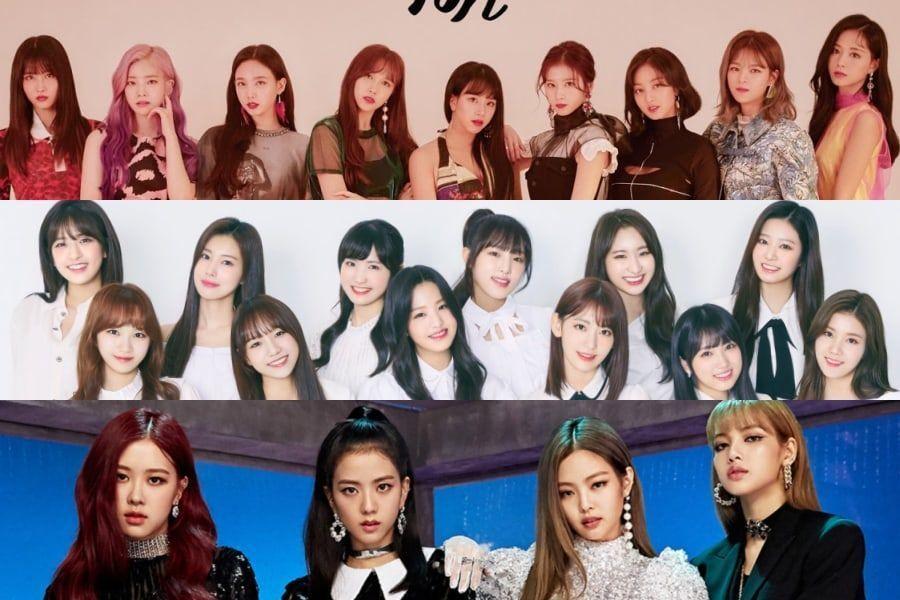 Se revela el ranking de reputación de marca de grupos de chicas del mes de noviembre