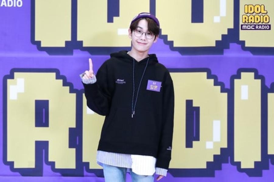 Ilhoon de BTOB llama a sus miembros durante su celebración de 1 mes de aniversario en programa de radio