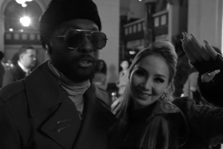 """CL se encuentra con viejos amigos y graba escenas de acción en el """"cómo se hizo"""" del MV de """"Dopeness"""""""