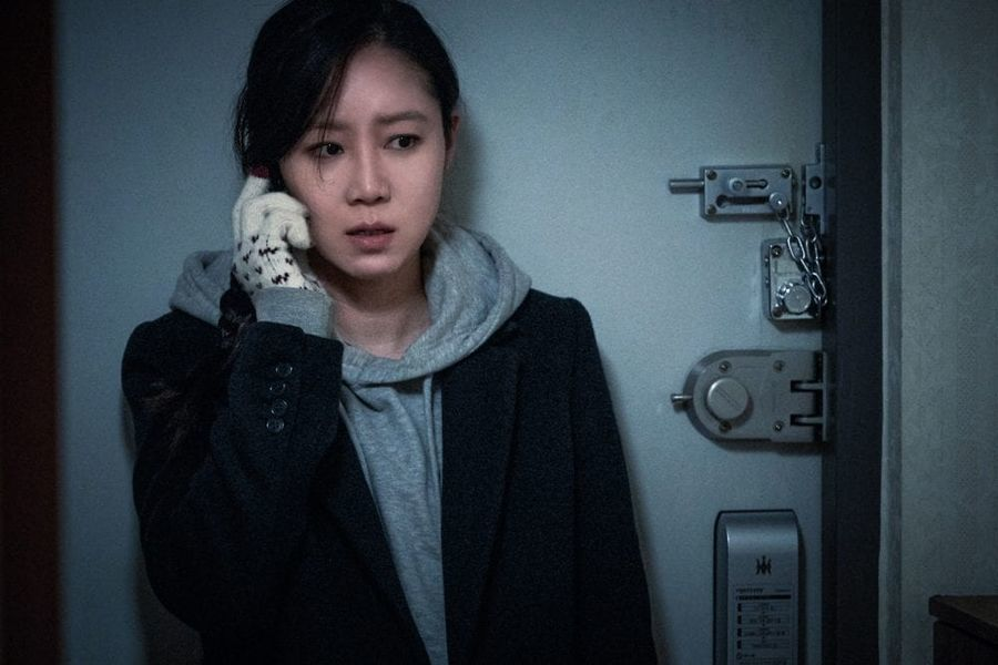 """Gong Hyo Jin habla sobre lo aterradora que es su nueva película """"Door Lock"""""""