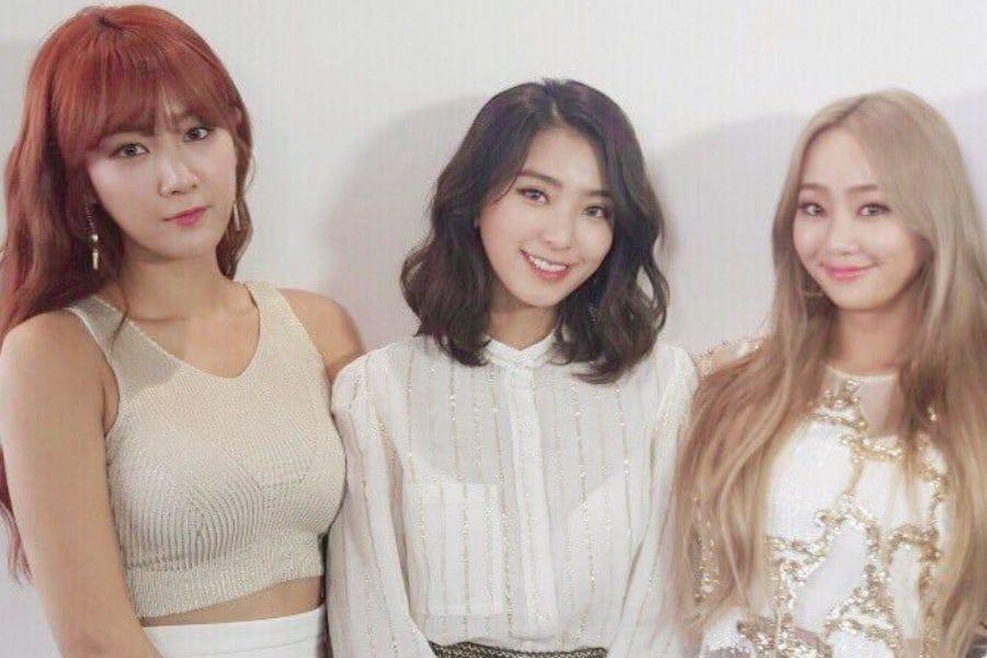 Soyou y Bora muestran su apoyo a Hyolyn en su primer concierto en solitario