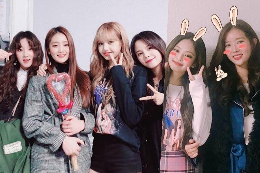 Yuqi y Minnie de (G)I-DLE, Sorn de CLC y Im Soo Hyang se reúnen con BLACKPINK en su concierto