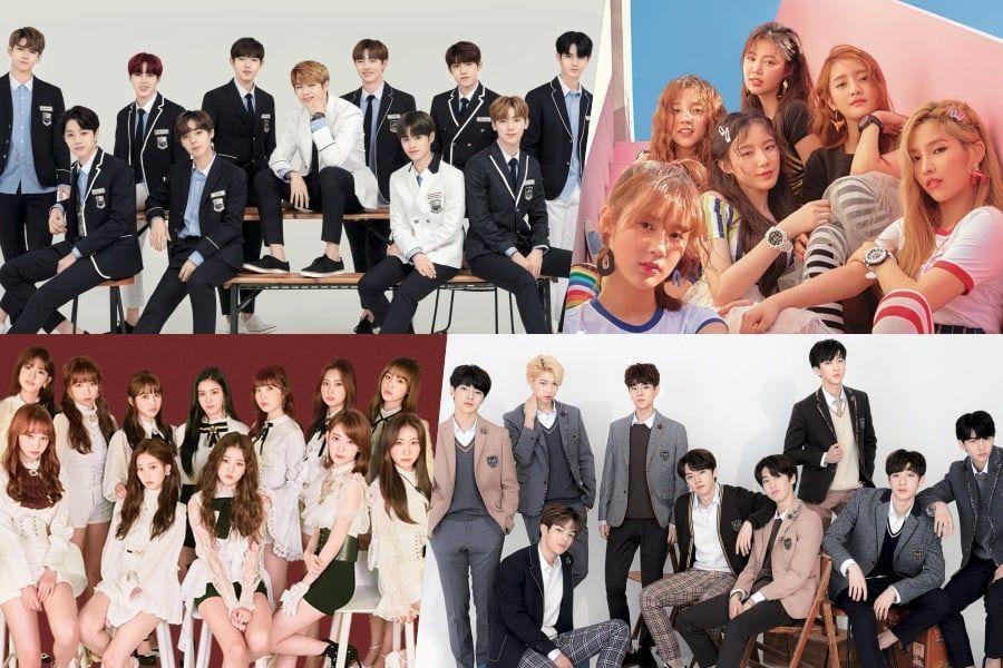 """Wanna One, (G)I-DLE, IZ*ONE, Stray Kids y otros más asistirán al estreno de los """"MAMA 2018"""" en Corea"""
