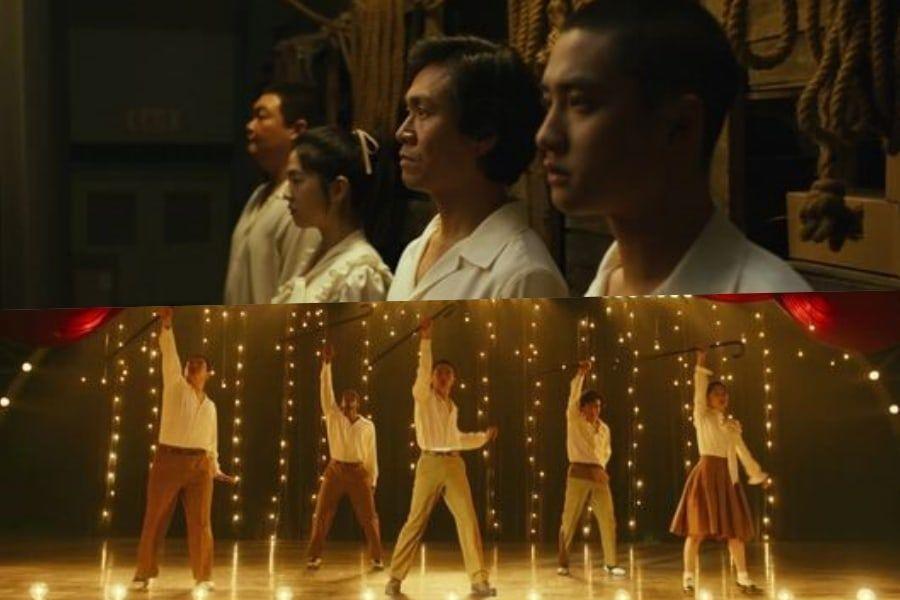 """D.O de EXO, Park Hye Soo y más, bailan con todo su corazón en nuevo trailer de """"Swing Kids"""""""