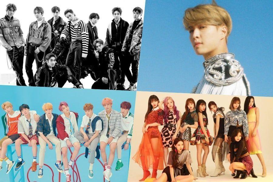 EXO, Lay, BTS, TWICE, RM y otros más se apoderan de la lista de álbumes internacionales de Billboard