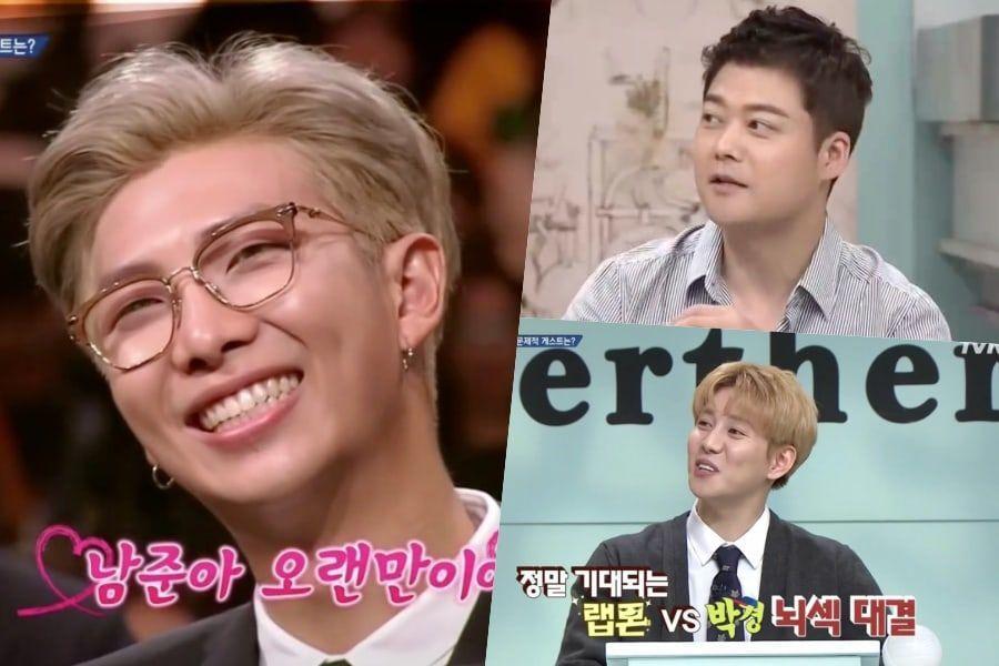 """Jun Hyun Moo y Park Kyung de Block B dicen que extrañan a RM de BTS en """"Problematic Men"""""""
