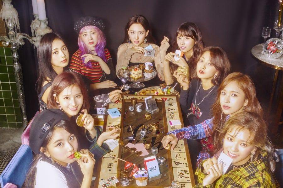 TWICE logra cuátruple corona en las listas semanales de Gaon