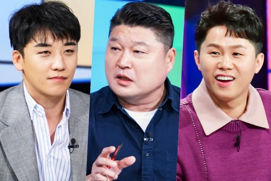 3 cosas a tener en cuenta en el próximo programa de variedades de Seungri de BIGBANG y Kang Ho Dong