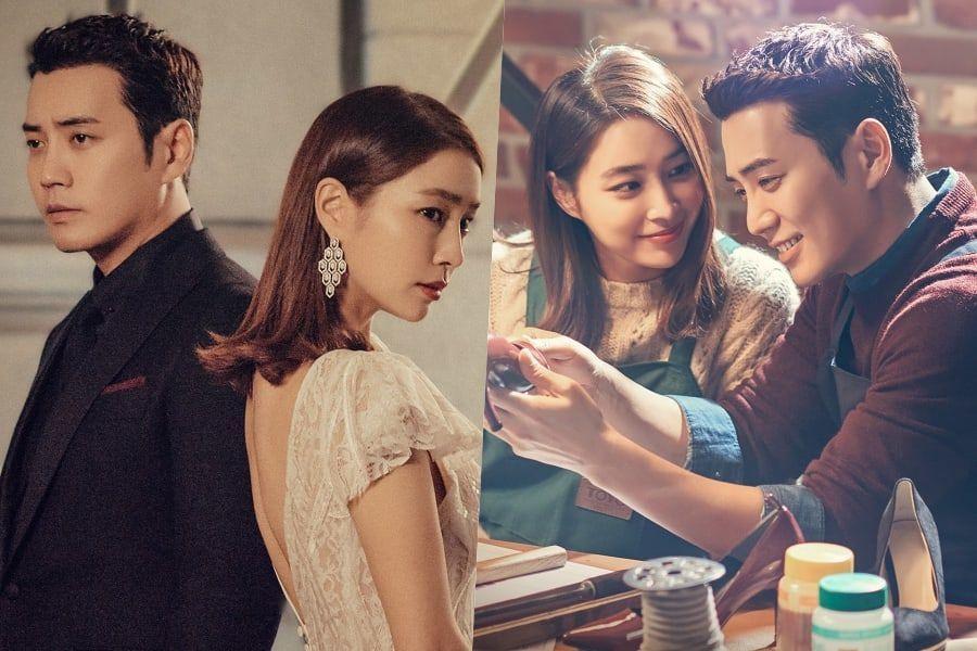 """Lee Min Jung y Joo Sang Wook son distantes pero románticos en nuevos pósters de """"Fates And Furies"""""""
