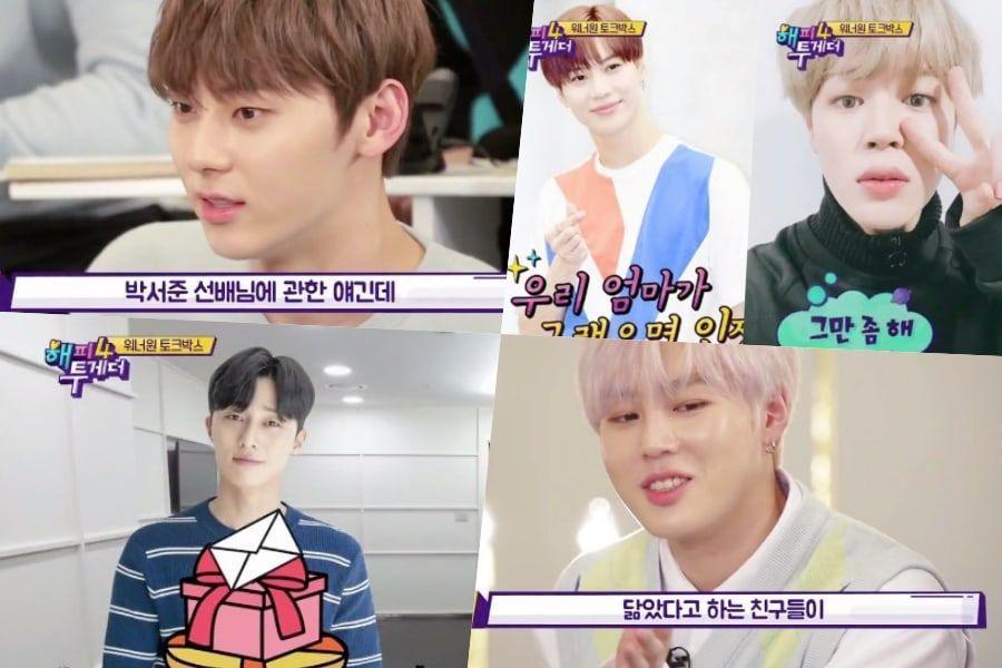 Hwang Min Hyun y Ha Sung Woon de Wanna One comparten historias sobre ser confundidos con Park Seo Joon y Taemin de SHINee