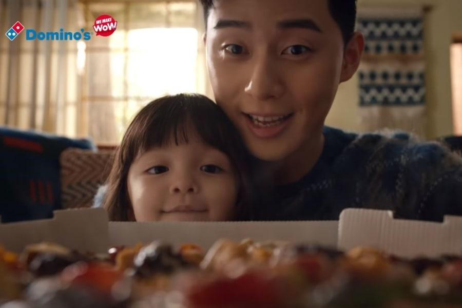 Park Seo Joon y Na Eun son lindos y adorables en el comercial de Domino's Pizza