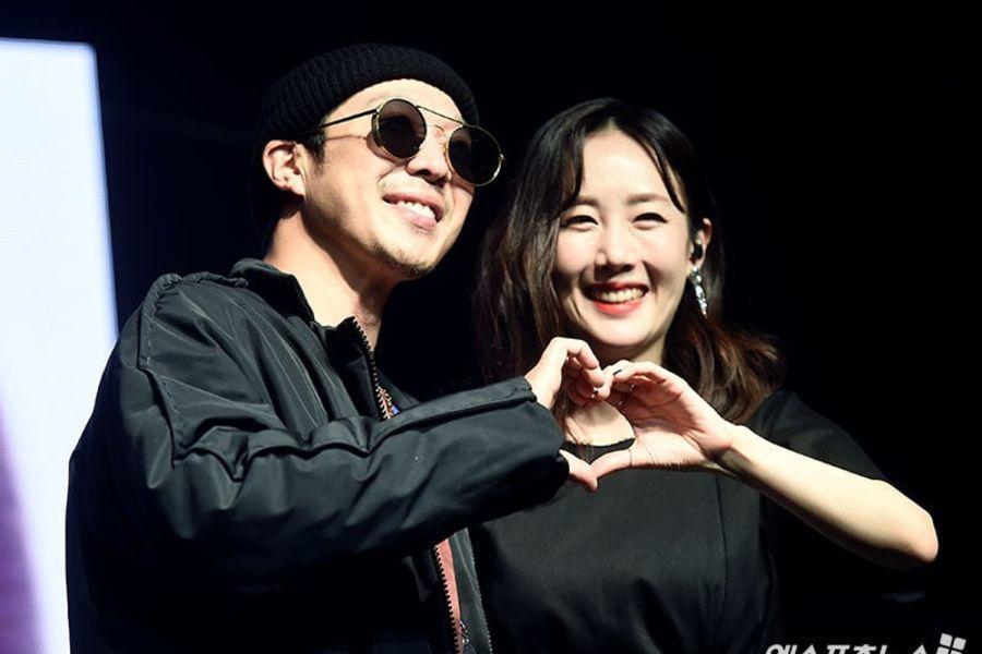 HaHa realiza una aparición sorpresa en el showcase comeback de Byul para mostrar apoyo por su esposa