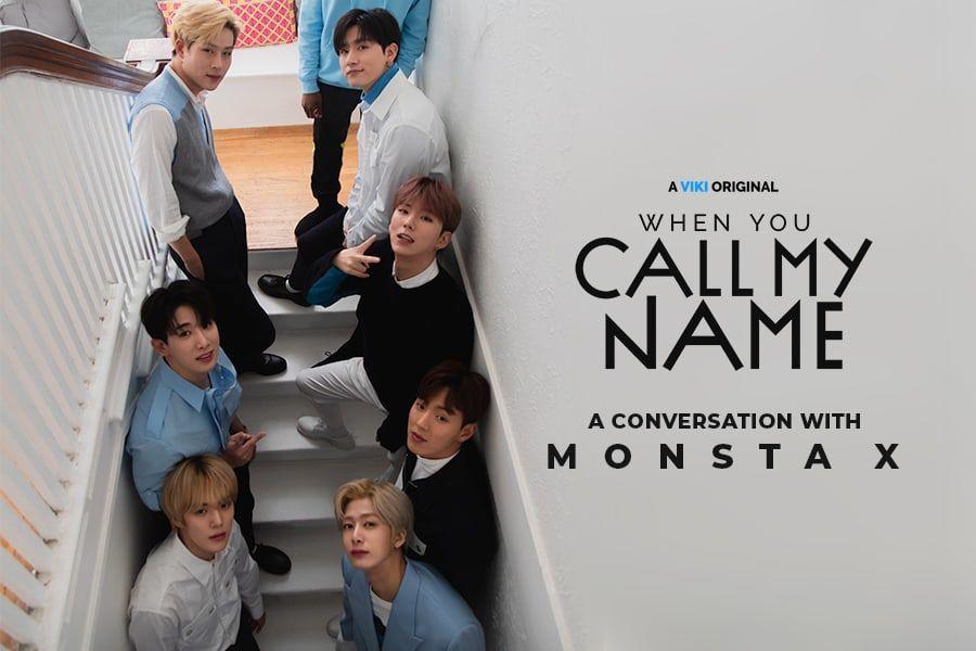 """Se publican cortes extendidos de MONSTA X del documental original de Viki """"When You Call My Name"""""""