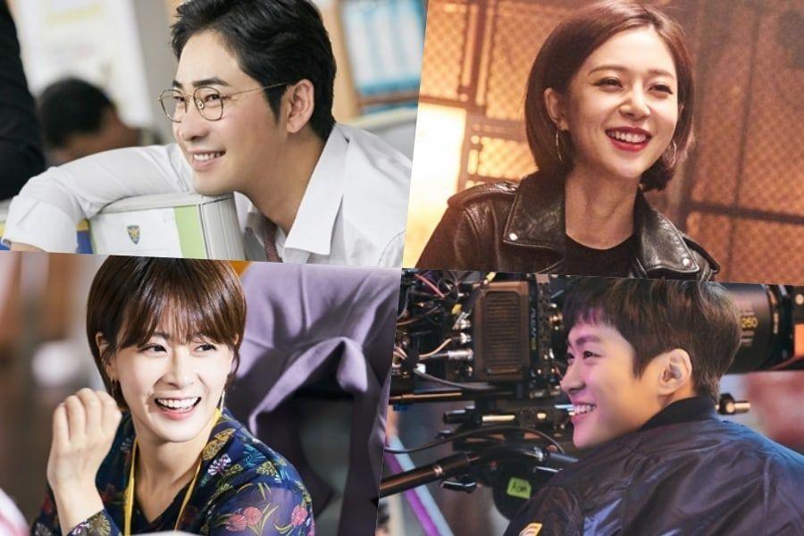 "Kang Ji Hwan, Baek Jin Hee, Gong Myung y más, no paran de reír en el set de ""Feel Good To Die"""