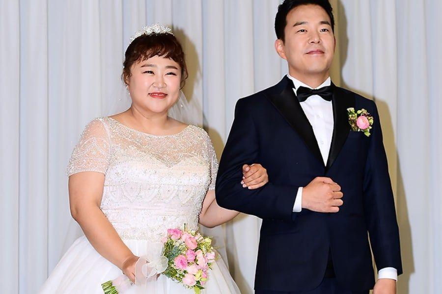 Hong Yoon Hwa y Kim Min Ki se casan después de 9 años de relación