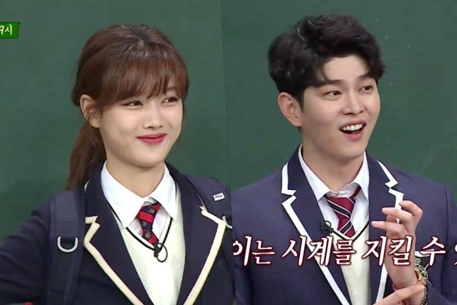 """Kim Yoo Jung y Yoon Kyun Sang están listos para enamorar al elenco de """"Ask Us Anything"""""""