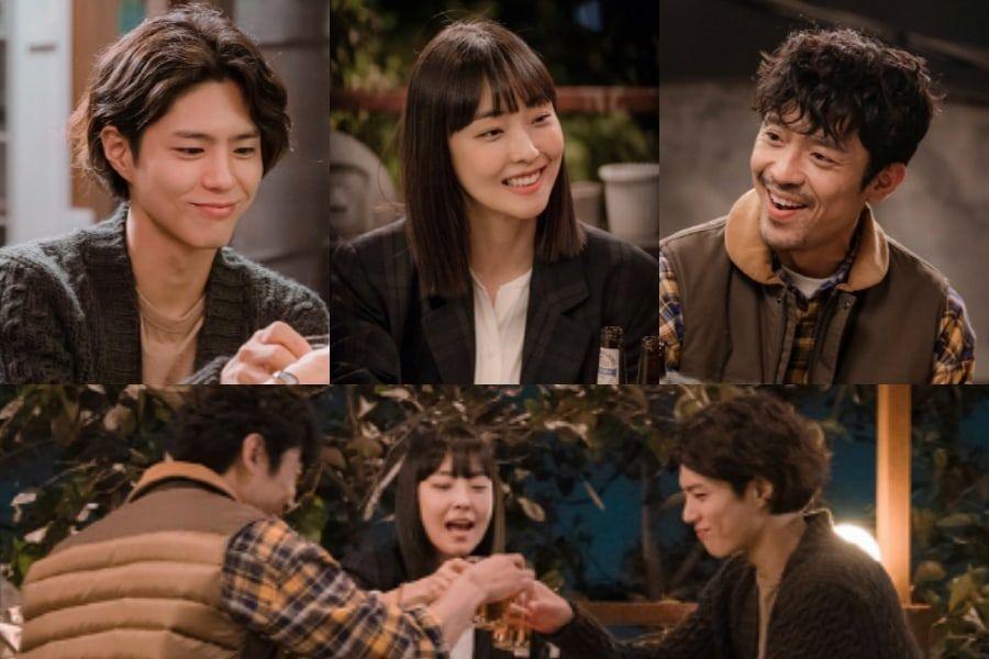 """""""Encounter"""", el nuevo drama de Park Bo Gum revela un adelanto de su amado escuadrón"""