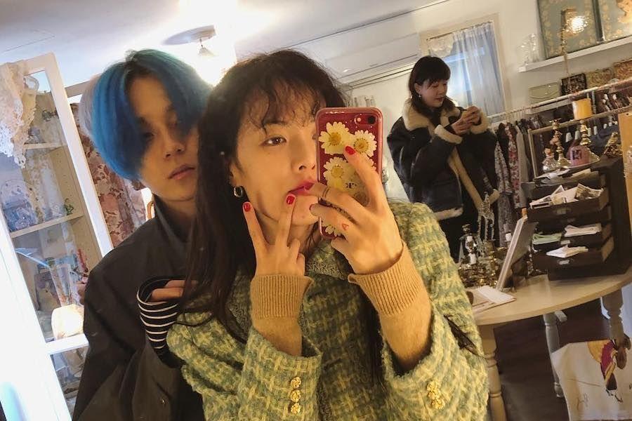 HyunA e E'Dawn se elogian y bromean mutuamente en cariñosa transmisión en vivo