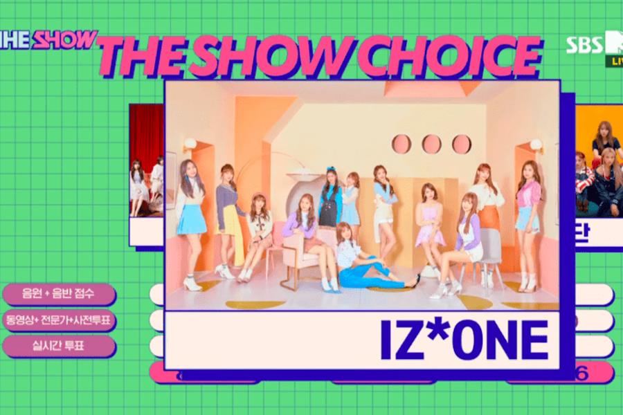 """IZ*ONE se lleva su 3era victoria con """"La Vie En Rose"""" en """"The Show""""; presentaciones de JBJ95, HOTSHOT y más"""
