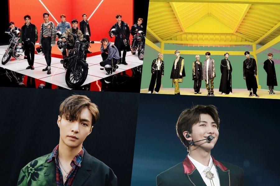 EXO, BTS, Lay, RM, NCT 127 y más obtuvieron altas calificaciones en la lista de álbumes mundiales de Billboard