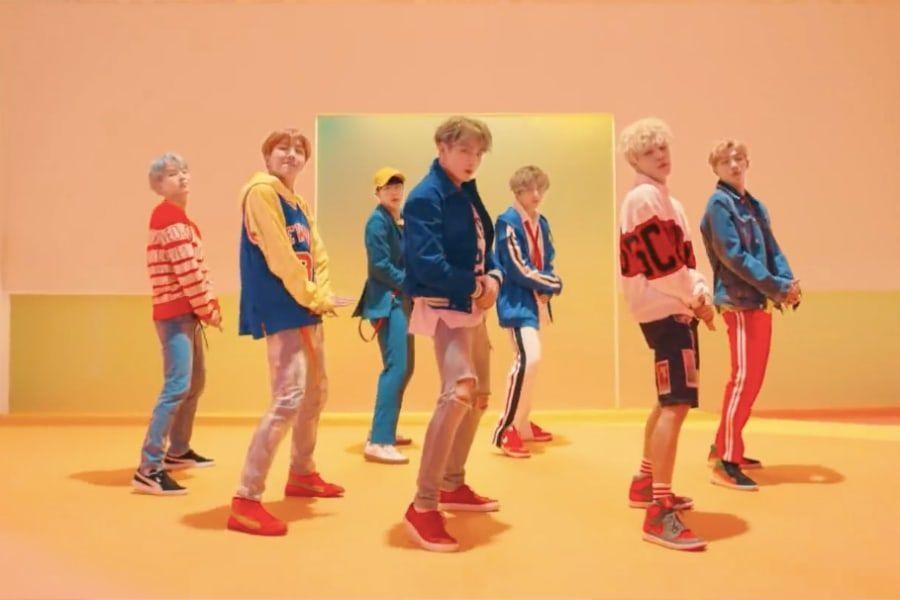 """""""DNA"""" de BTS se convierte en el primer MV de un grupo coreano en llegar a los 550 millones de vistas"""
