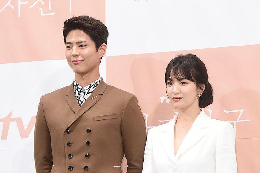 Park Bo Gum y Song Hye Kyo hablan sobre Song Joong Ki + Revelan cómo es trabajar juntos