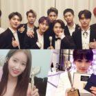 PENTAGON, Im Soo Hyang, Lee Yoo Ri y más ganan a lo grande en los 2018 Korea Culture And Entertainment Awards