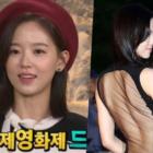La actriz Kang Han Na habla sobre revelar un vestido que le gustaría borrar de su pasado