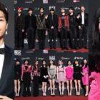 Las estrellas deslumbran en la alfombra roja de los 2018 MAMA en Hong Kong