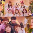 """Los artistas de FNC se reúnen para el festivo de MV de """"It's Christmas"""""""