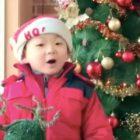 Song Il Gook comparte adorable vídeo de Minguk cantando villancicos navideños