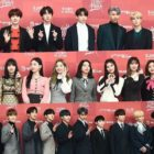 Estrellas pasean por la alfombra roja del 2º día de los 33rd Golden Disc Awards
