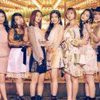 Oh My Girl en el primer lugar de la lista diaria de álbumes de Oricon con su álbum japonés debut
