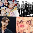 """BTS, EXO, Lay y otros más toman fuertes posiciones en la lista de álbumes mundiales de Billboard + """"Percent"""" de Apink hace su debut"""