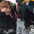 EXO revela historia detrás de la voltereta de Suho en el aeropuerto
