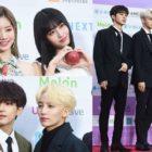 Estrellas brillan en la alfombra roja de los 8th Gaon Chart Music Awards
