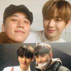Seungri de BIGBANG, Park Seo Joon, y más acuden al primer concierto final de Wanna One