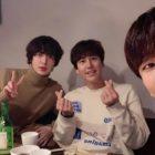 Ahn Jae Hyun, Kyuhyun de Super Junior y G.O de MBLAQ presumen una amistad inesperada