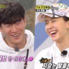 "Kim Jong Kook bromea con Song Ji Hyo llamándola esposa en ""Running Man"""